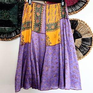 VINTAGE Dean Allen Hippie BOHEMIAN Skirt